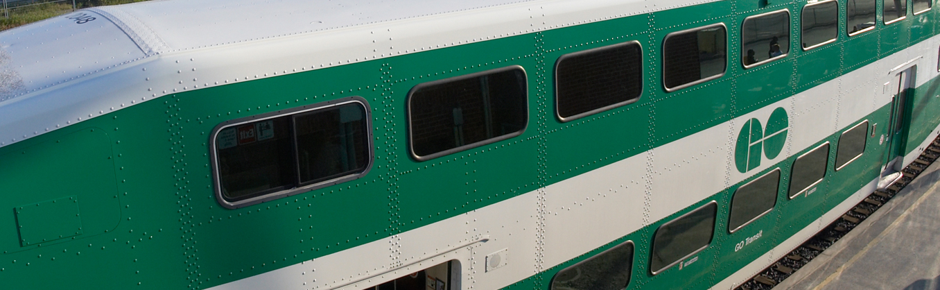 Go Transit in Barrie
