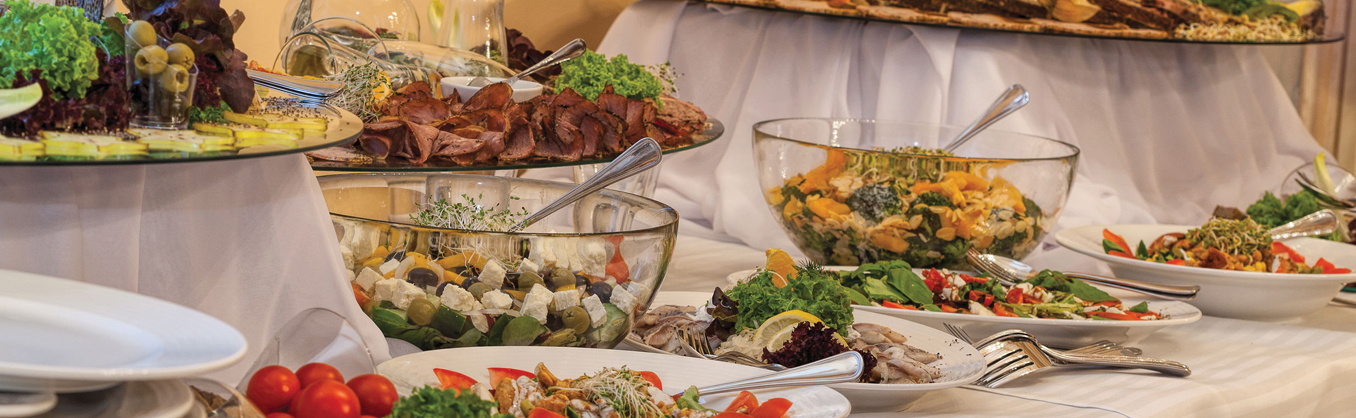Caterers to Service Your Meeting / Wedding