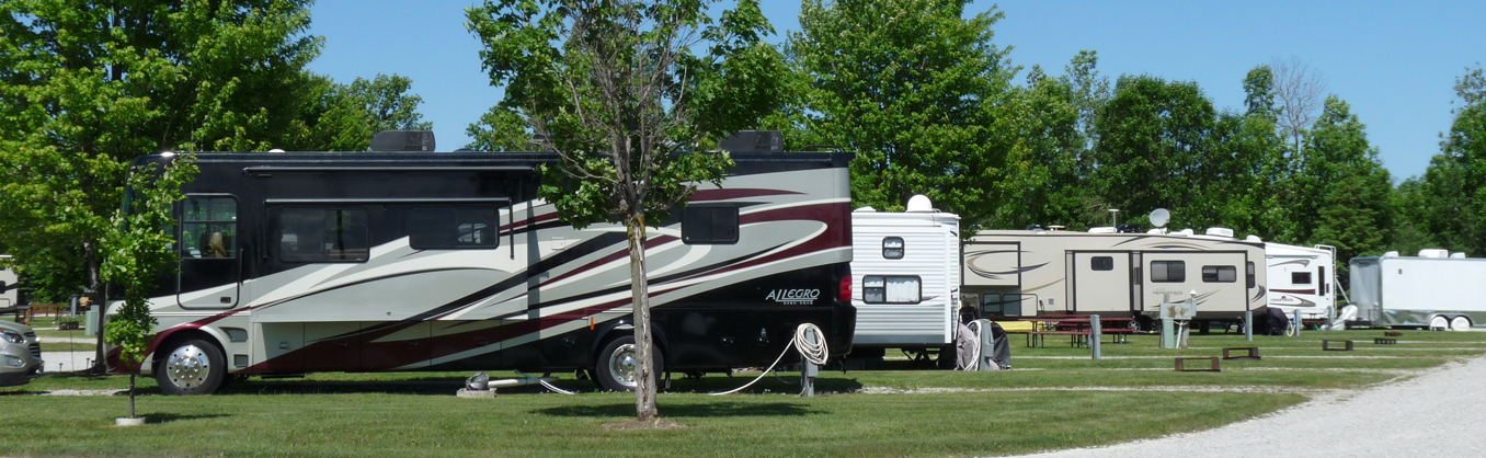 Campgrounds and RV Parks in Barrie