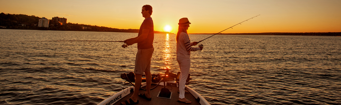 Things to do - Fishing in Barrie
