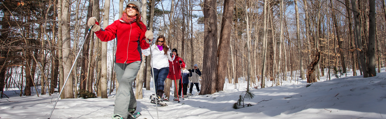 Snowshoeing in Barrie