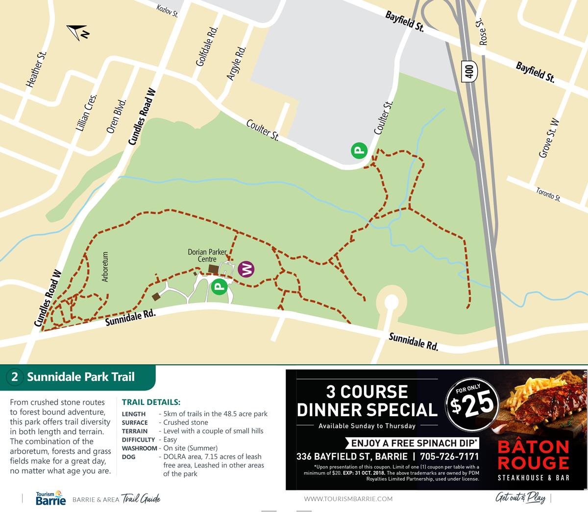 Sunnidale Park Trails