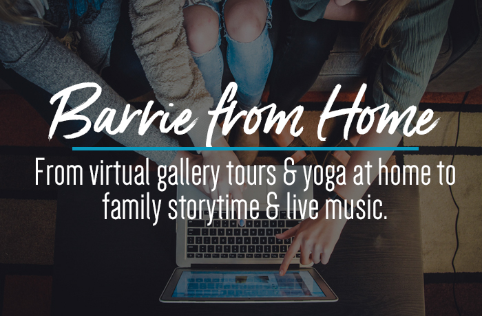 Explore Barrie Virtually