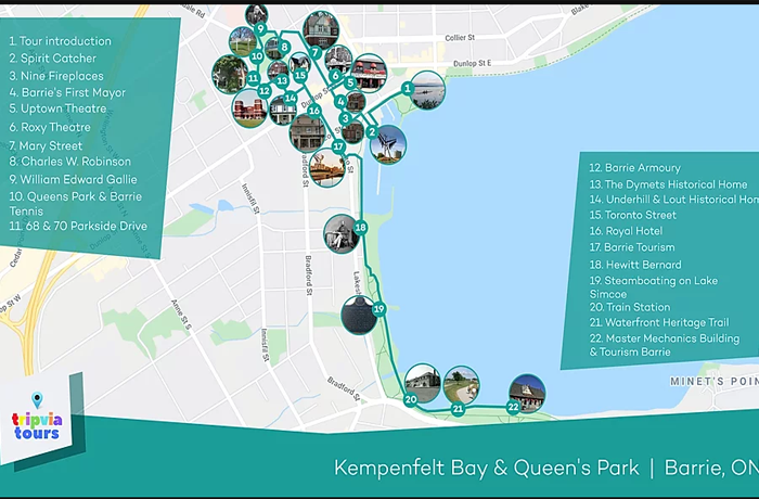Kempenfelt Bay Audio Tour