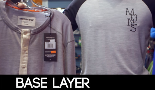 Base layer for winter sports
