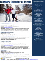 City of Barrie February 2018 Calendar of Events