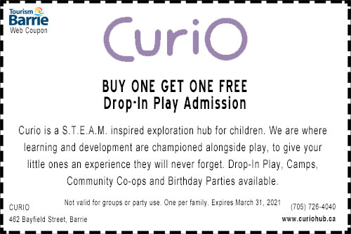 BOGO Drop In Play Curio Coupon