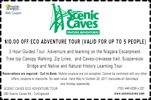Scenic Caves Eco Adventure Coupon 2017