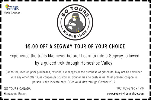 Segway of Ontario Coupon