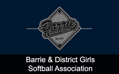 Barrie & District Girls Softball Association Logo