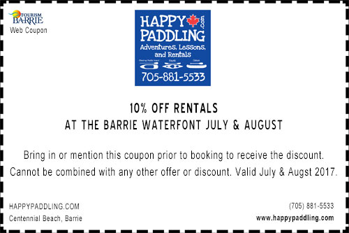 HappyPaddling Online Coupon