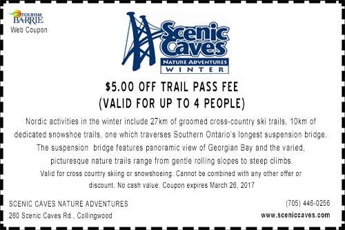 Scenic Caves Nordic Adventure Coupon