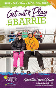 2017/2018 Barrie Winter Adventure Travel Guide