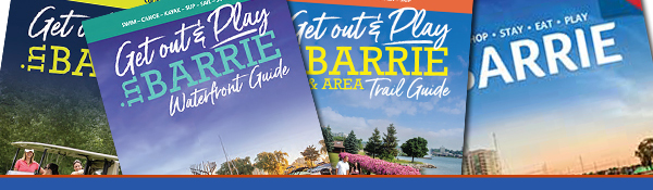 Get a copy of the Barrie Adventure Guides