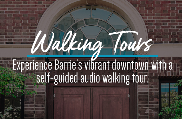 Historical Downtown Barrie Tour