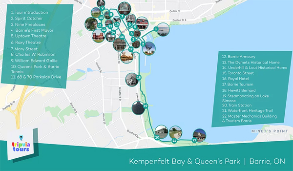 Kempenfelt Bay Walking Tour