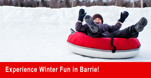 Winter Fun in Barrie & Area
