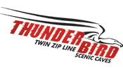 Thunderbird Twin Zip Adventure at Scenic Caves