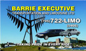 Barrie Executive Transportation & Limo