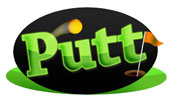 Putt Mini Golf Logo Barrie
