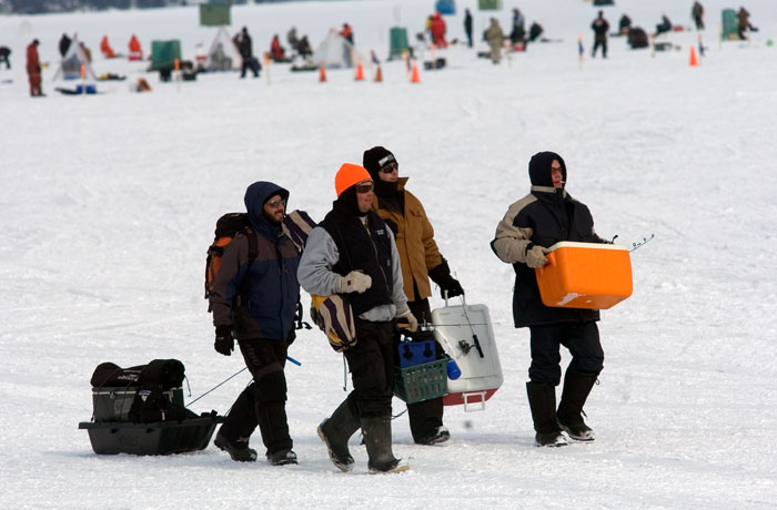 Ice Fishing Festival - Kempenfelt Bay