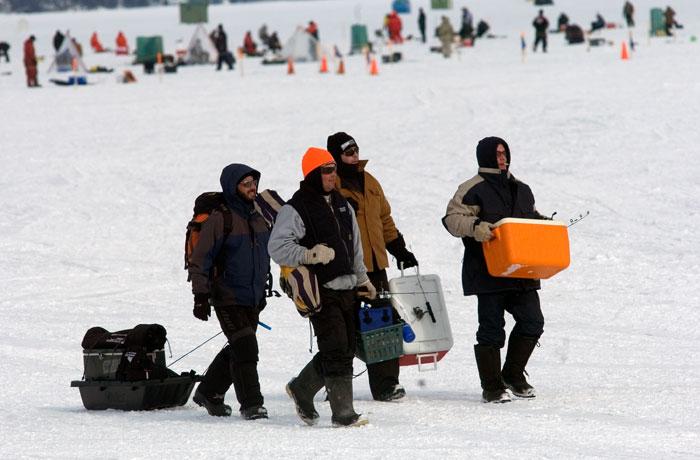 Ice Fishing Festival - Kempenfelt Bay