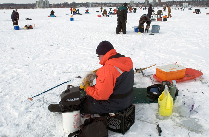 Ice Fishing Festival - Barrie, Ontario
