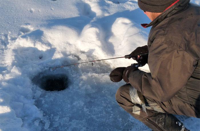 Ice Fishing - Lake Simcoe