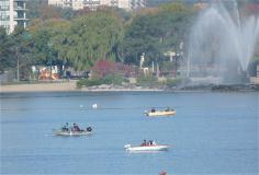 Fishing on Kempenfelt Bay