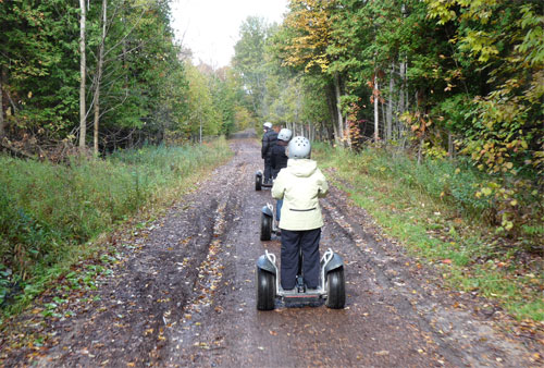 Off-Road Segways at Horseshoe Resort