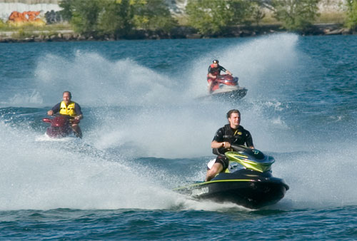 Seadoo - On Lake Simcoe