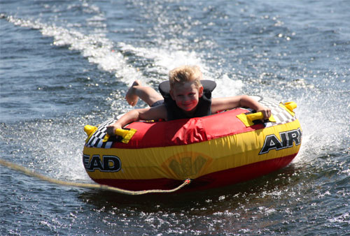 Water Tubing on Kempenfelt Bay