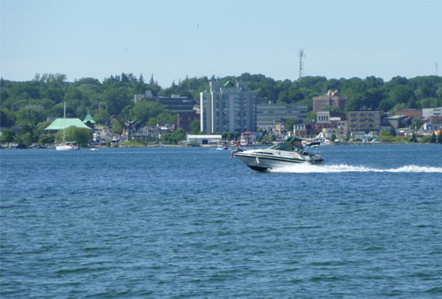 Boating on Kempenfelt Bay, Barrie