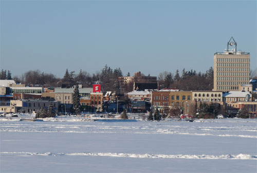 Kempenfelt Bay in Winter