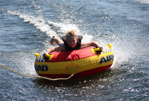 Water Tubing in Barrie