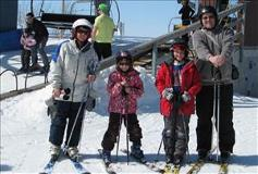 Alpine Skiing at Snow Valley