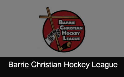 Barrie Christian Hockey League Logo