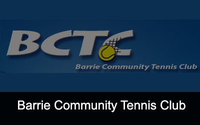 Barrie Community Tennis Club Logo