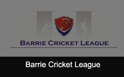 Barrie Cricket League Logo