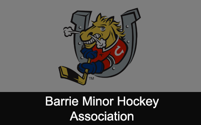 Barrie Minor Hockey Association Logo
