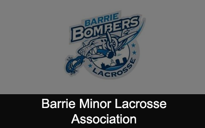 Barrie Minor Lacrosse Association Logo