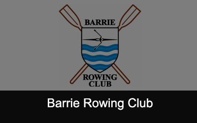Barrie Rowing Club Logo