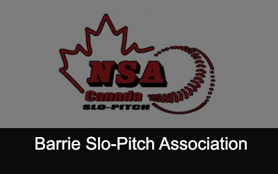 Barrie Slo-Pitch Association Logo