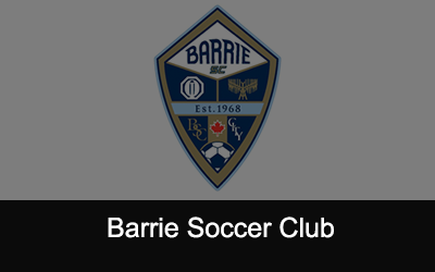 Barrie Soccer Club Logo