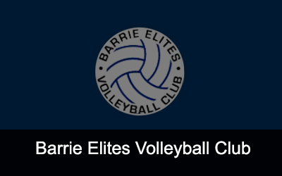 Barrie Elite Volleyball Club Logo