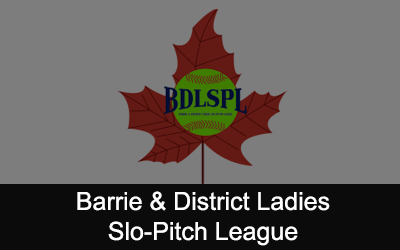 Barrie & District Ladies Slo-Pitch Logo