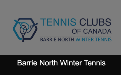North Winter Tennis Logo