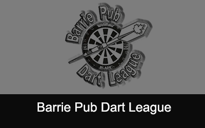 Barrie Pub Dart League Logo