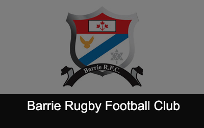 Barrie Rugby Football Club Logo