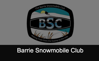 Barrie Snowmobile Club Logo